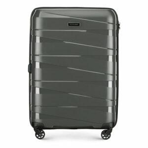 Średnia walizka z polipropylenu