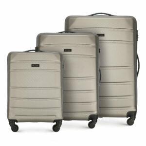 Rodzinny zestaw walizek na kółkach