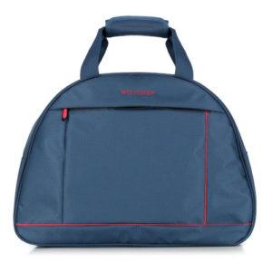 Granatowa torba podróżna