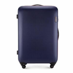 Duża walizka na kółkach z ABS