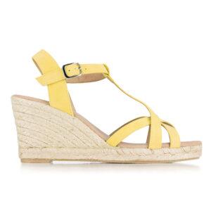 Jasne sandały damskie