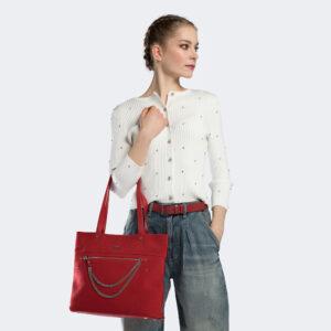 Damska torebka w paryskim stylu