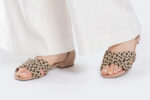 Plecione sandały