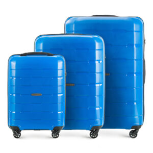 Zestaw walizek z polipropylenu