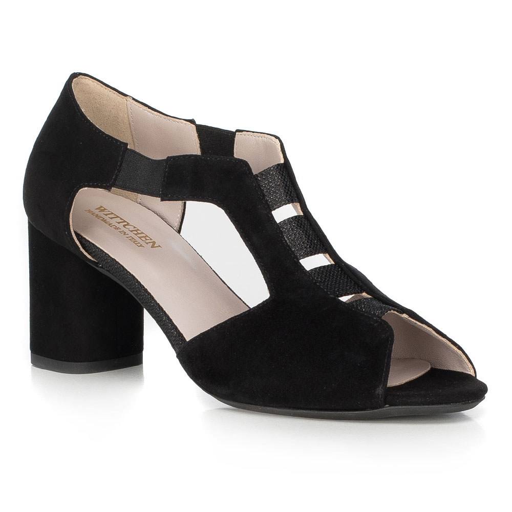 Sandały damskie z koziej skóry
