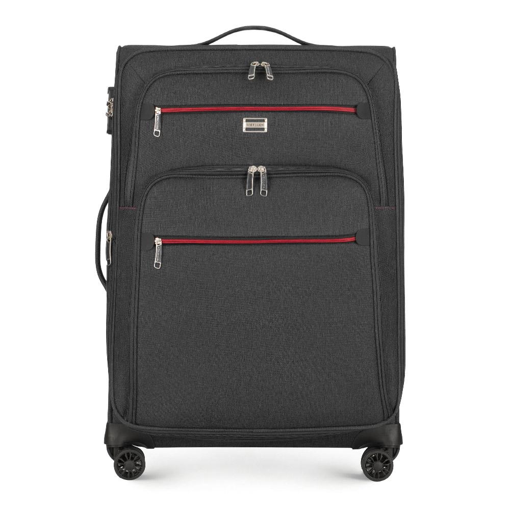 Poliestrowa walizka Średnia walizka z kolekcji Comfort Line II