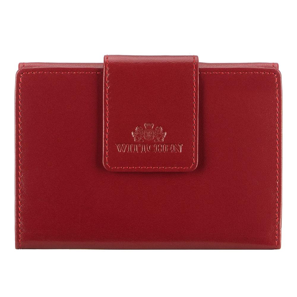 Damski skórzany portfel