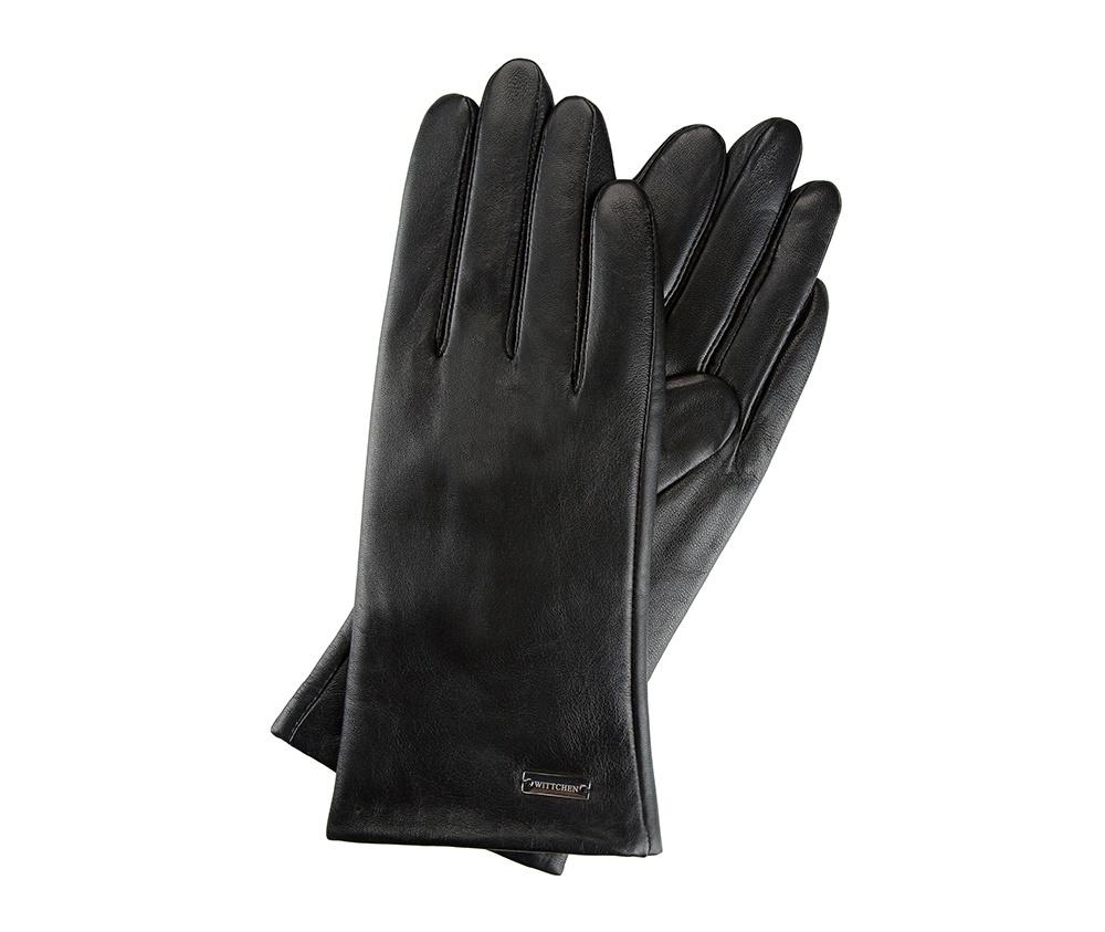 Proste skórzane rękawiczki dla niej