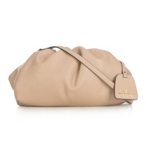 Skórzana torebka chmurka