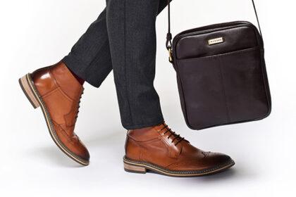 Trzewiki męskie w stylu business casual