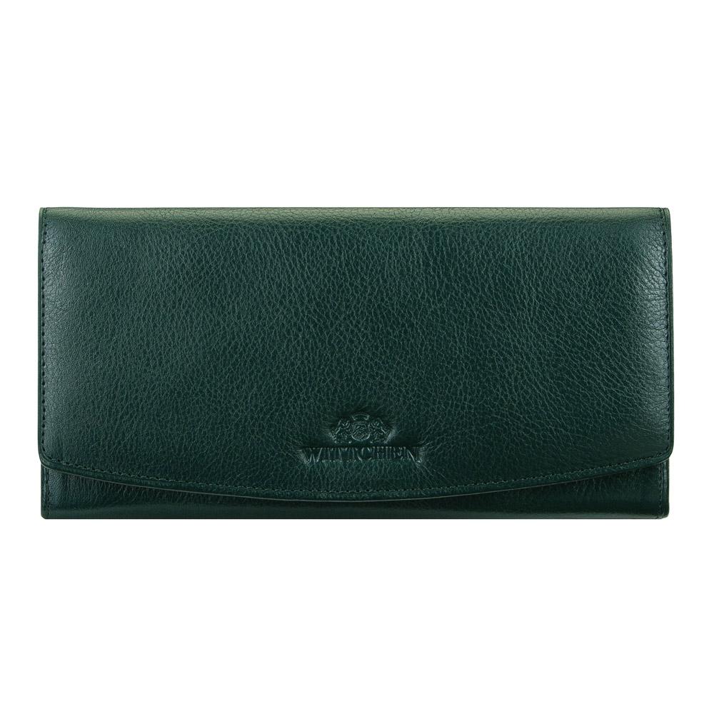 Damski zielony portfel