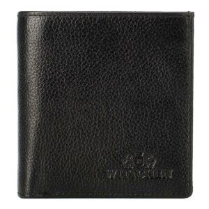Klasyczny czarny portfel damski
