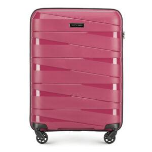 Damska walizka z polipropylenu