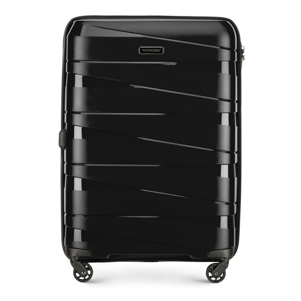 Czarna walizka dla nastolatka