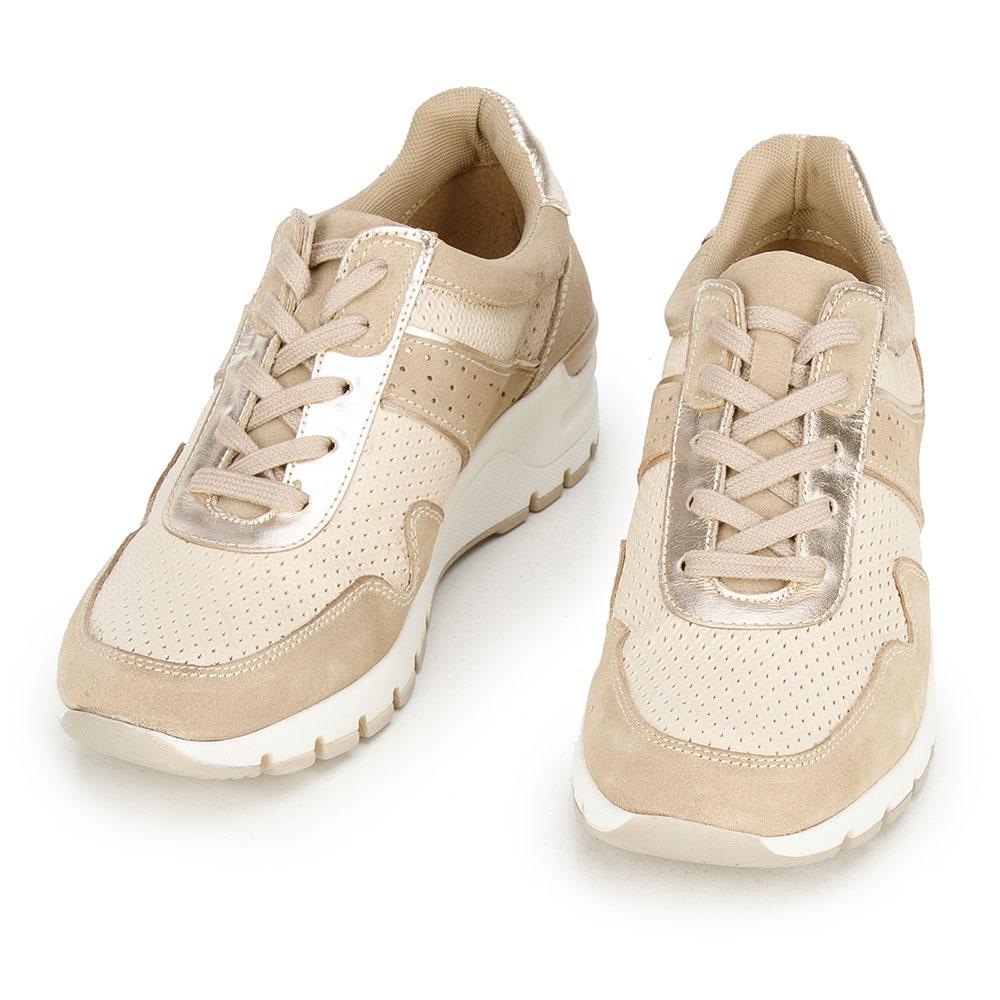 Klasyczne damskie sneakersy ze sznurówkami
