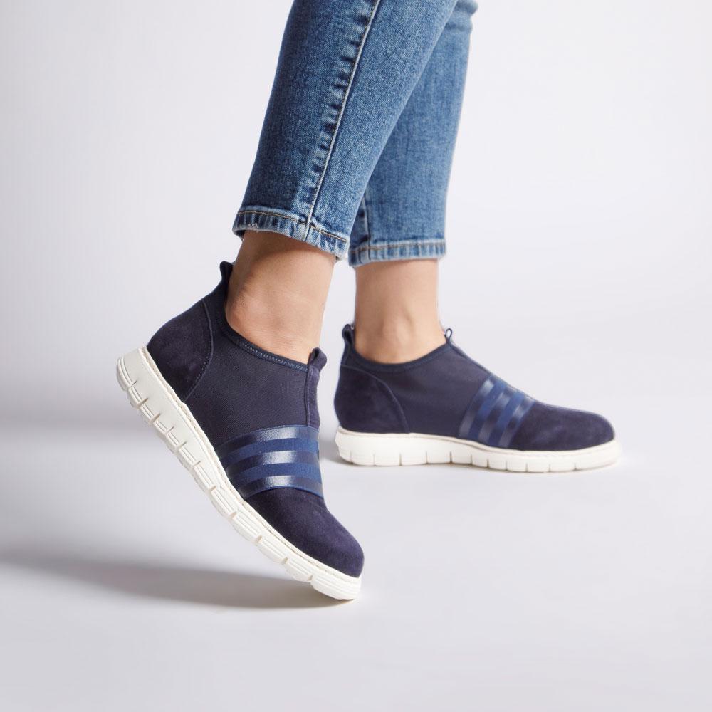 Damskie sneakersy z gumką