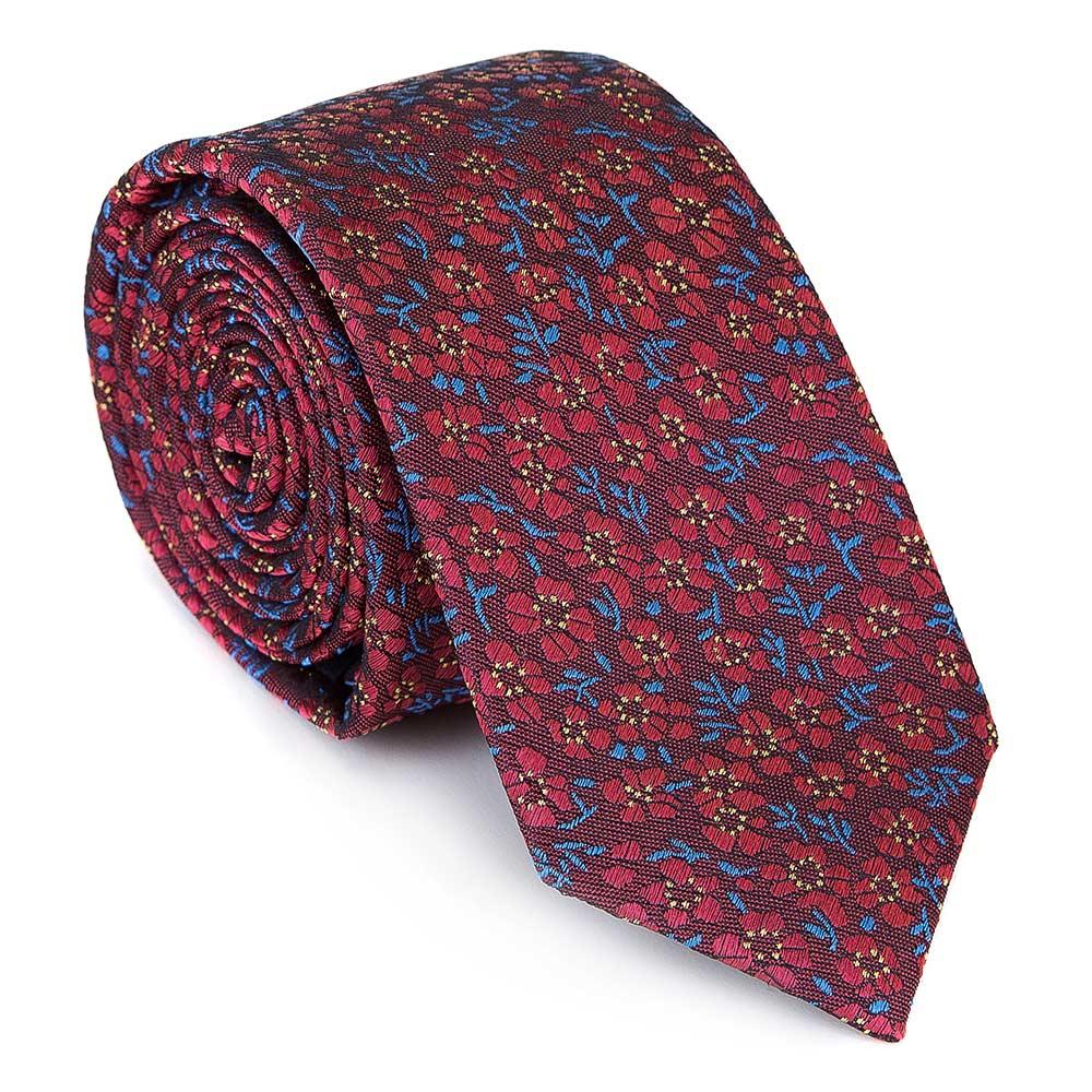 Wzorzysty krawat na Dzień Taty