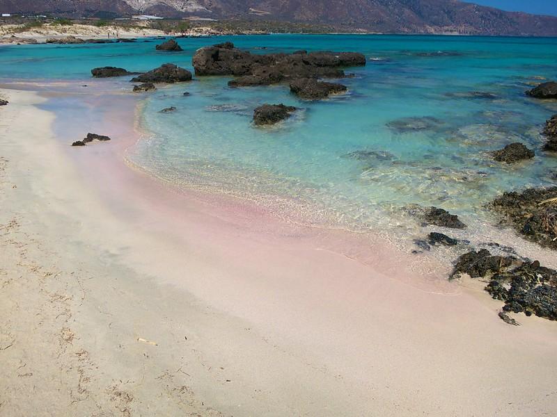 Wakacje na Krecie 2021: plaża Elafonissi