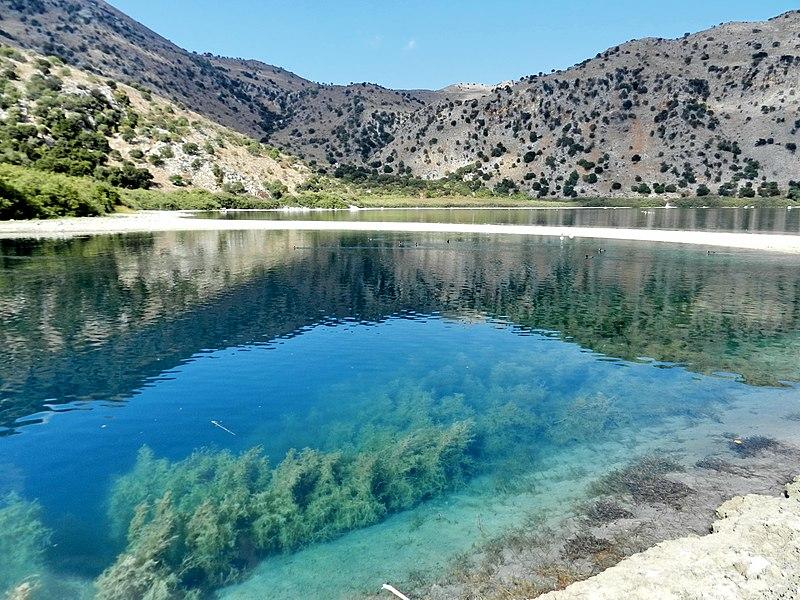 Kreta 2021: jezioro Kournas