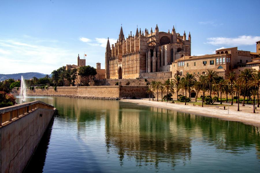 Palma de Mallorca i katedra