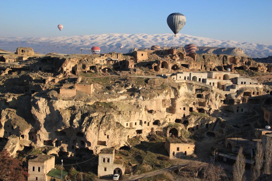 Kapadocja: skalne miasta